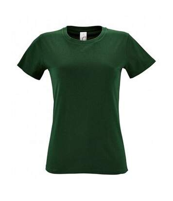 Sols Regent - T-Shirt - Femme (Vert bouteille) - UTPC2792