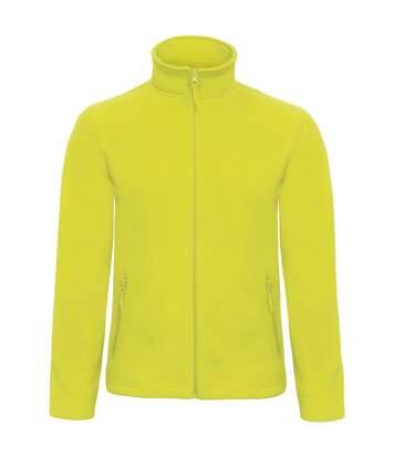 B&C Collection Mens ID 501 Microfleece Jacket (Pixel Lime) - UTRW3527