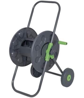 Dévidoir à tuyau d'arrosage vide sur roues