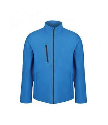 Regatta Professional Mens Ablaze Three Layer Soft Shell Jacket (French Blue/Navy) - UTPC4061
