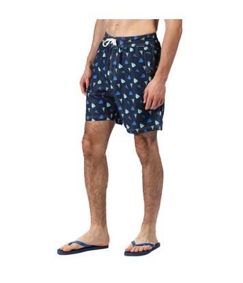 Regatta Mens Hadden II Quick Drying Board Shorts (Cardinal Navy) - UTRG4175