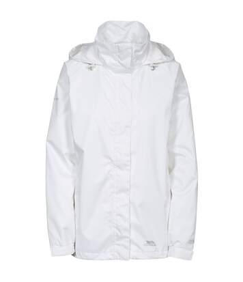 Trespass Womens/Ladies Lanna II Waterproof Jacket (White) - UTTP3279