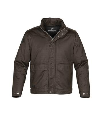 Stormtech Mens Urban Waxed Twill Jacket (Brown) - UTBC3076