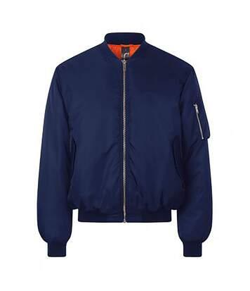 Sols - Veste D'aviateur Remington - Unisexe (Bleu marine) - UTPC2818
