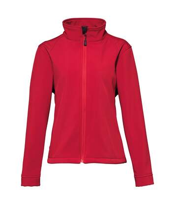 2786 Womens/Ladies 3 Layer Softshell Performance Jacket (Wind & Water Resistant) (Red) - UTRW2503