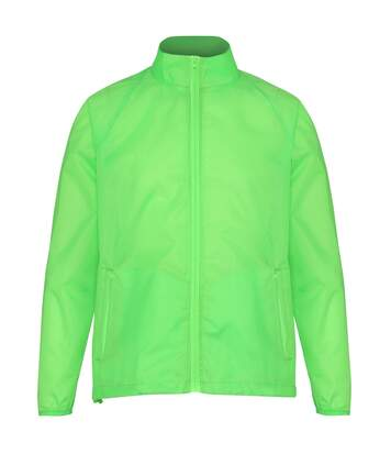 2786 Unisex Lightweight Plain Wind & Shower Resistant Jacket (Red) - UTRW2500