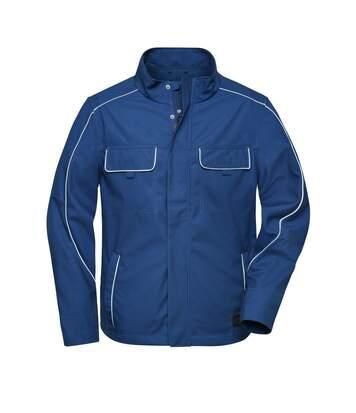 Veste de travail légere softshell - JN882 - bleu roi foncé