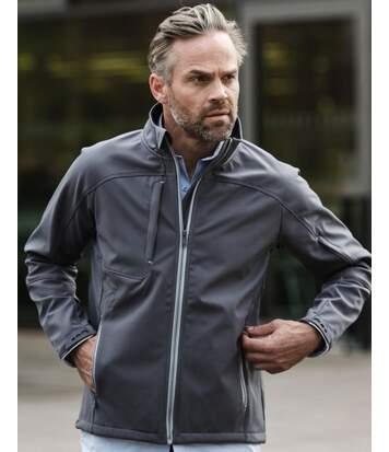 Veste softshell bionic homme - R-410-M - gris acier