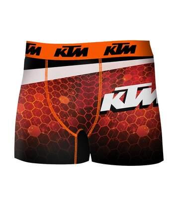 Boxer homme Ktm en Microfibre -Assortiment modèles photos selon arrivages- Mod03 act4