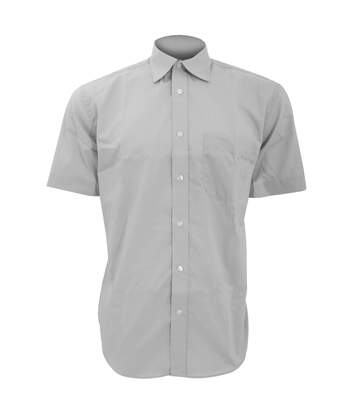Kustom Kit Mens Short Sleeve Business Shirt (White) - UTBC592