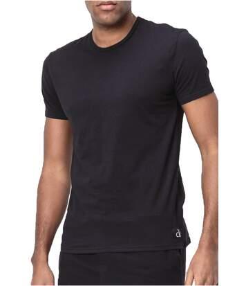 Tee Shirt Basique Stretch   -  Calvin Klein