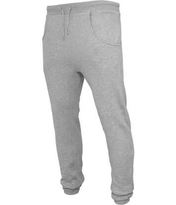 pantalon jogging homme coupe slim - BY013 - gris