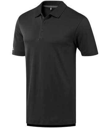 Polo performance golf ADIDAS manches courtes - homme - AD036 - noir