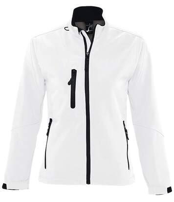 Veste softshell imperméable respirante femme 46800 - blanc