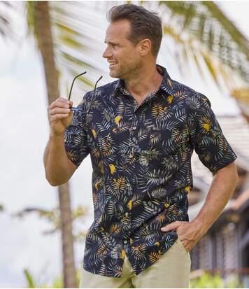 Havajská košile Parrot
