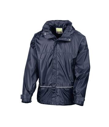 Result Mens Waterproof Windproof 2000 Coach Jacket (Navy Blue) - UTBC880