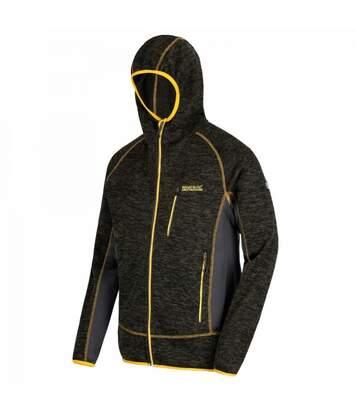 Regatta Mens Cartersville V Hooded Jacket (Umbra Grey/Granite Grey) - UTRG3650