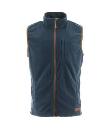 Caterpiller Mens Concord Fleece Vest (Eclipse) - UTFS7139