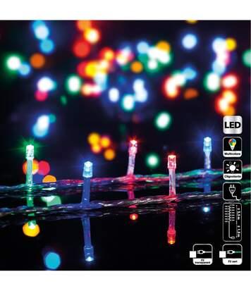 Feeric Christmas - Guirlande lumineuse intérieur 50 LED Multicolore sur 2.5 mètres