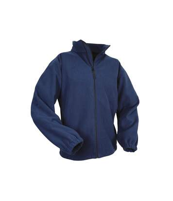 Result Mens Extreme Climate Stopper Water Repellent Fleece Breathable Jacket (Navy Blue) - UTBC847