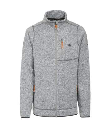 Trespass Mens Wallow Full Zip Fleece Jacket (Grey Marl) - UTTP4023