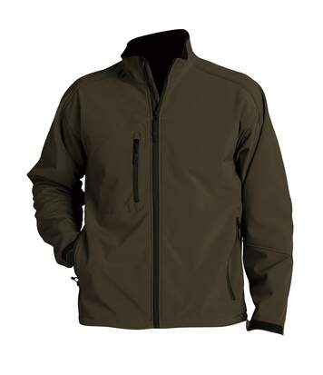 SOLS Mens Relax Soft Shell Jacket (Breathable, Windproof And Water Resistant) (Dark Chocolate) - UTPC347