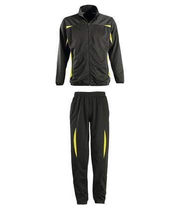 Survêtement sports - 90300 noir et jaune - mixte homme femme
