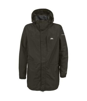 Trespass Mens Edwin Hooded Full Zip Waterproof Coat/Jacket (Khaki) - UTTP307
