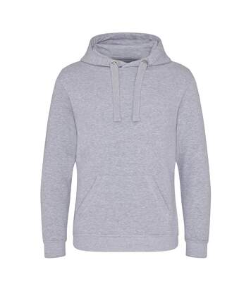 AWDis Just Hoods Mens Graduate Heavyweight Hoodie (Heather Grey) - UTPC2969