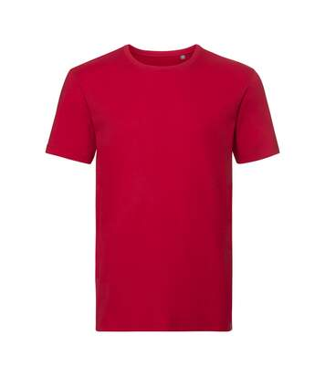 Russell Mens Authentic Pure Organic T-Shirt (Classic Red) - UTPC3569