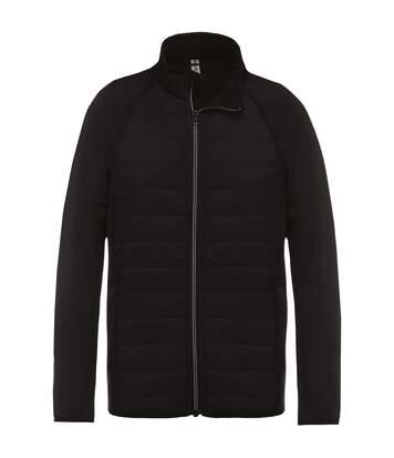 Kariban Proact Mens Dual Fabric Sports Jacket (Black/ Black) - UTRW6166