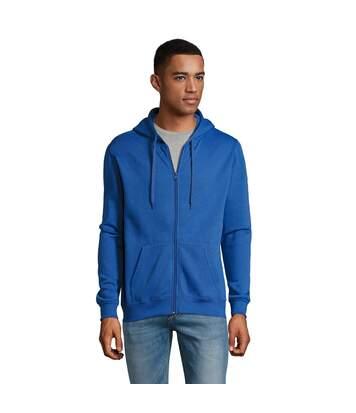 SOLS Mens Stone Zip Up Plain Hoodie (Royal Blue) - UTPC2784