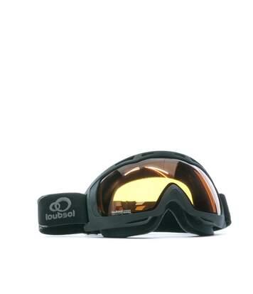 Masque de ski noir homme Loubsol