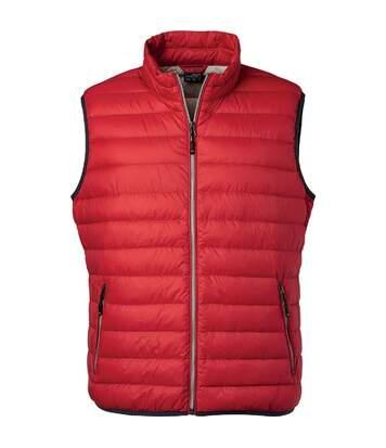 Bodywarmer duvet - JN1138 - rouge - Homme