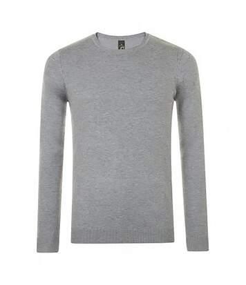 SOLS Mens Ginger Crew Neck Sweater (Grey Marl) - UTPC2831