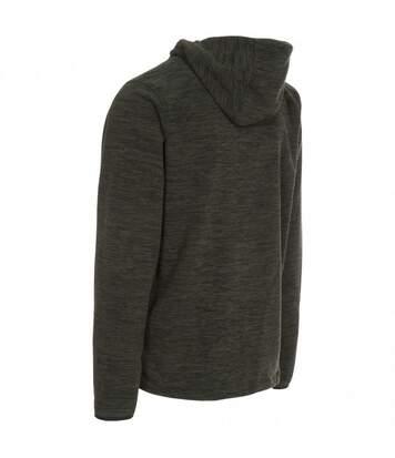 Trespass Mens Barack Full Zip Hooded Fleece Jacket (Olive Marl) - UTTP3390