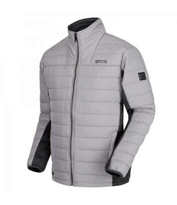 Regatta Mens Ibsen Full Zip Jacket (Silver Grey/Granite Grey) - UTRG3670