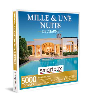SMARTBOX - Mille et une nuits de charme - Coffret Cadeau Séjour