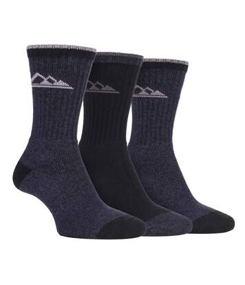 3 Pk Ladies Hiking Socks with Arch Support