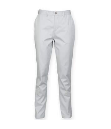 Front Row - Pantalon Chino - Homme (Gris clair) - UTRW4698