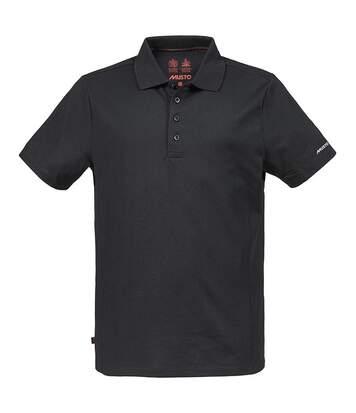 Musto Mens Evolution Sunblock Short Sleeve Polo Shirt (Black) - UTRW5603