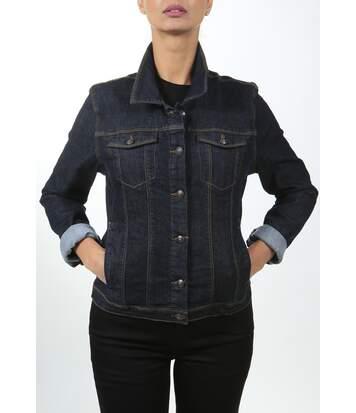 Veste en jeans stretch coupe ajustée Era