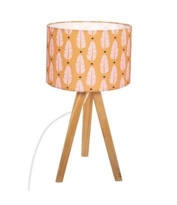 Atmosphera - Lampe à poser en Bois H 46 cm Elne Jungle pop