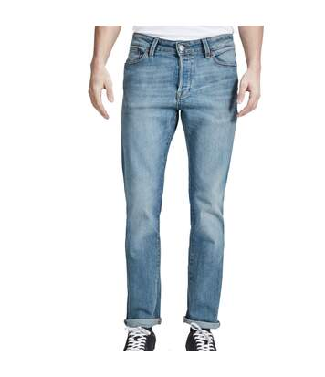 Jeans Slim Straight Bleu Homme Jack & Jones Tim