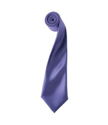 Premier - Cravate Unie - Homme (Pourpre) - UTRW1152