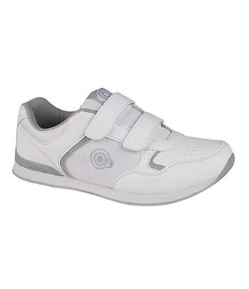 Dek Mens Drive Touch Fastening Trainer-Style Bowling Shoes (Grey) - UTDF950