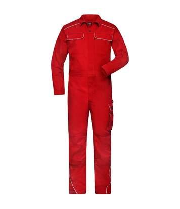 Combinaison de travail homme - JN887 - rouge