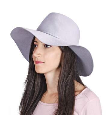 Chapeau capeline laine MILIE