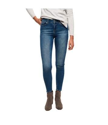 Jeans Bleu Skinny Femme Superdry SUPERVINTAGE