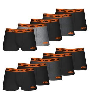 Lot de 10 Boxers coton homme KTM